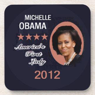 Práctico de costa 2012 de Obama Posavasos