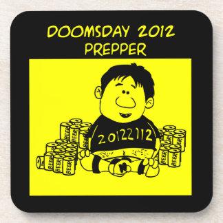 Práctico de costa 2012 de Prepper del día del juic Posavasos De Bebidas
