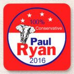 Práctico de costa 2016 de Paul Ryan Posavasos De Bebida