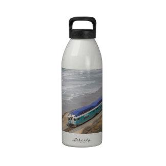 Práctico de costa botellas de agua reutilizables