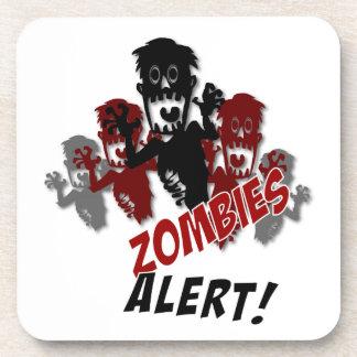 Práctico de costa alerta de los zombis posavasos