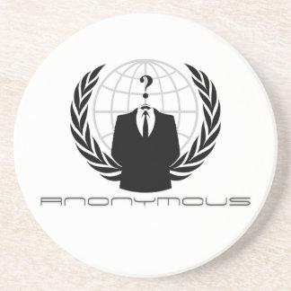 Práctico de costa anónimo posavasos personalizados