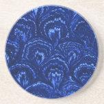 Práctico de costa azul de la piedra arenisca del z posavasos diseño