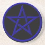 Práctico de costa azul del Pentagram Posavasos Manualidades