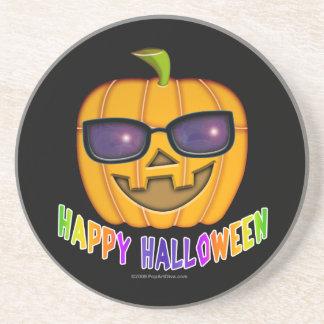 Práctico de costa - calabaza de Halloween Jack O'L Posavasos Diseño