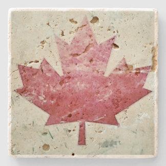 Práctico de costa canadiense sucio de la piedra de posavasos de piedra