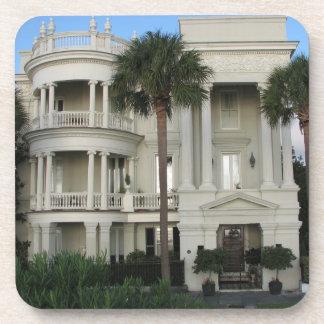 Práctico de costa casero histórico de Charleston C Posavasos De Bebidas