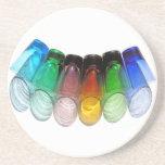 Práctico de costa coloreado 28 de los vasos de med posavasos personalizados