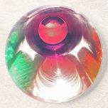 Práctico de costa coloreado 51 de los vasos de med posavasos manualidades