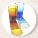 Práctico de costa coloreado 53 de los vasos de med posavasos manualidades