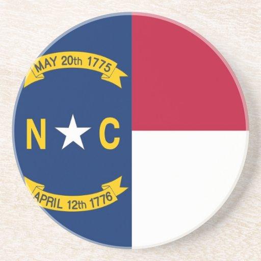 Práctico de costa con la bandera de la Carolina de Posavasos Manualidades