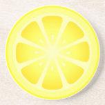 Práctico de costa con sabor a fruta del limón de T Posavasos Personalizados