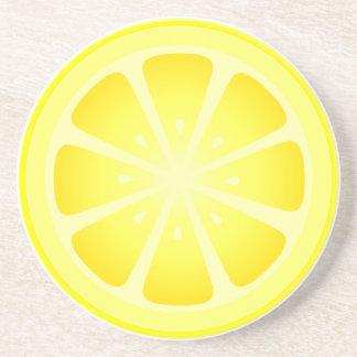Práctico de costa con sabor a fruta del limón de T Posavasos Manualidades