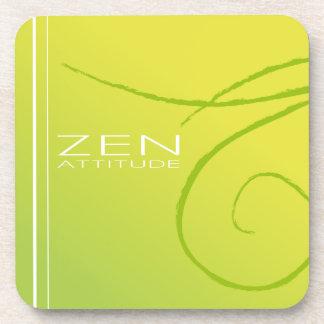 Práctico de costa cuadrado del zen posavasos