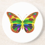 Práctico de costa de ButterflyWarrior 4 Posavasos Manualidades