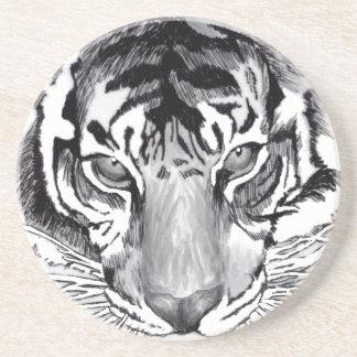 práctico de costa de consumición del tigre posavasos manualidades