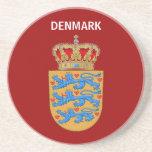 ¡Práctico de costa de Dinamarca! Posavasos Personalizados