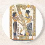 Práctico de costa de Egipto antiguo 1 Posavasos Diseño