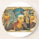 Práctico de costa de Egipto antiguo 3 Posavasos Cerveza