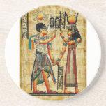 Práctico de costa de Egipto antiguo 5 Posavasos Diseño