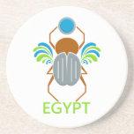 Práctico de costa de EGIPTO Posavaso Para Bebida