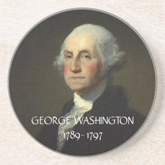 Práctico de costa de George Washington Posavasos Personalizados