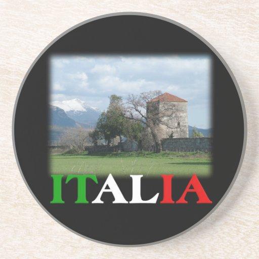 Práctico de costa de Italia/de Italia Posavasos Diseño