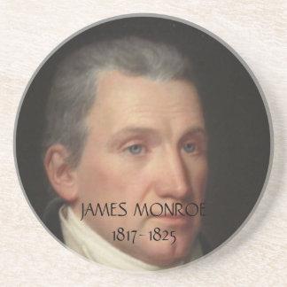 Práctico de costa de James Monroe Posavasos Diseño