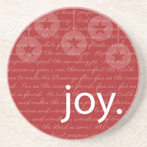 """Práctico de costa de la """"alegría"""" posavasos personalizados"""