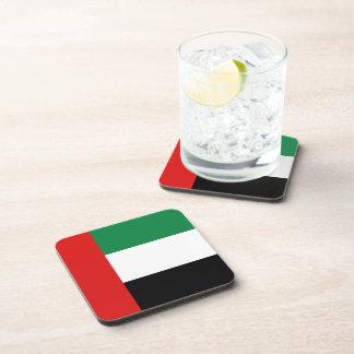 Práctico de costa de la bandera de los UAE Posavasos De Bebida