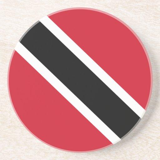 Práctico de costa de la bandera de Trinidad and To Posavaso Para Bebida