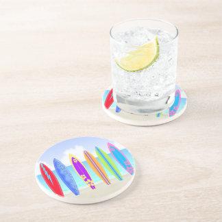 Práctico de costa de la bebida de la piedra arenis posavaso para bebida