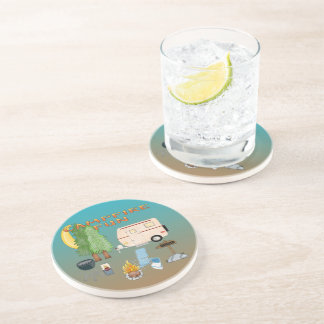 Práctico de costa de la bebida de la piedra arenis posavasos diseño