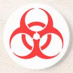 Práctico de costa de la bebida del Biohazard Posavasos Para Bebidas