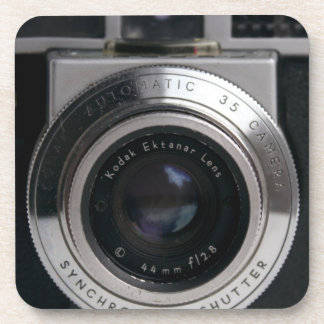 Práctico de costa de la cámara del telémetro del v posavasos