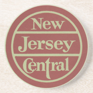 Práctico de costa de la central de New Jersey Posavasos Diseño