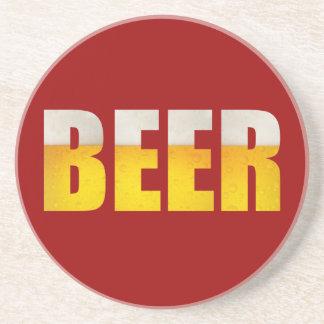 Práctico de costa de la cerveza posavasos personalizados