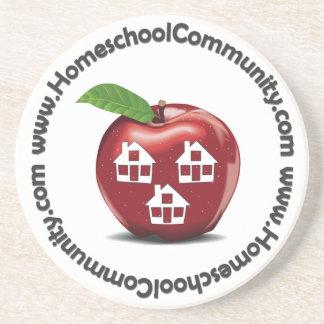 Práctico de costa de la comunidad de Homeschool Posavasos Personalizados
