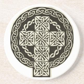 Práctico de costa de la cruz céltica posavasos manualidades