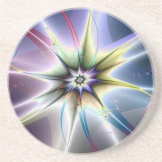 Práctico de costa de la explosión de la estrella posavasos personalizados