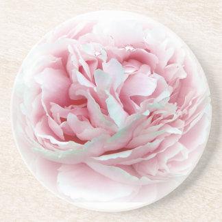 Práctico de costa de la flor del boda posavasos manualidades