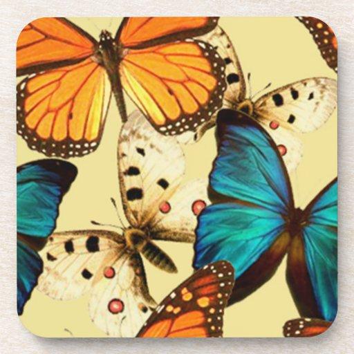 Práctico de costa de la mariposa posavasos