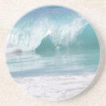 Práctico de costa de la ola oceánica posavasos personalizados