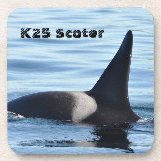 Práctico de costa de la orca de la negreta K25 Posavasos De Bebidas