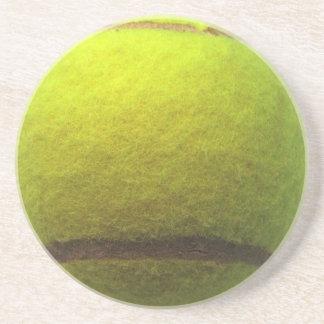 Práctico de costa de la pelota de tenis posavasos para bebidas