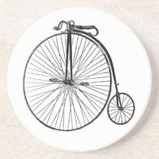 Práctico de costa de la piedra arenisca de la bici posavasos diseño