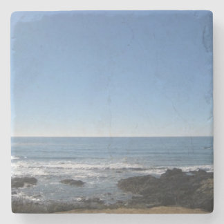 Práctico de costa de la piedra de la playa de posavasos de piedra