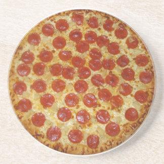 Práctico de costa de la pizza posavasos para bebidas