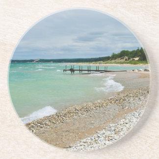 Práctico de costa de la playa de Great Lakes Posavasos Diseño