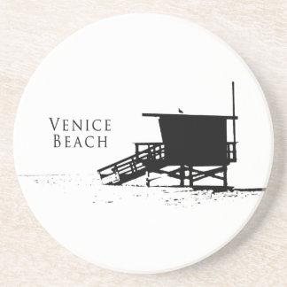 Práctico de costa de la playa de Venecia Posavasos Cerveza